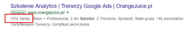 rozszerzenia reklam