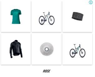 rosebikes remarketing